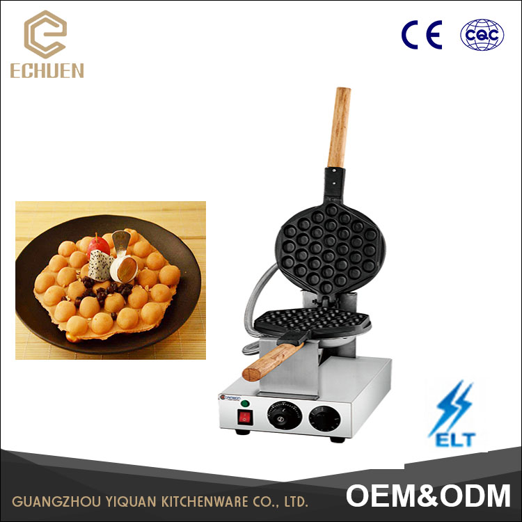Good Quality Electric Digital Hong Kong Egg Waffle Maker for Sale