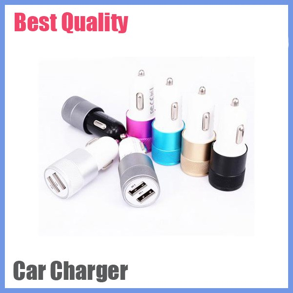 Shenzhen factory price promotional dual port car charger usb, Custom usb car charger 2 port cell phone car mounts