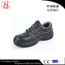 New fashionable genuine leather steel toe cap china safety shoe malaysia