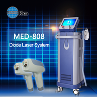 alibaba express 808 diode laser for hair removal with no pain