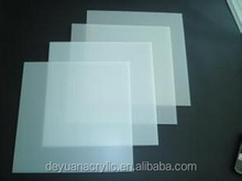 High quality Square frost pattern acrylic sheet for LED ceiling diffuser