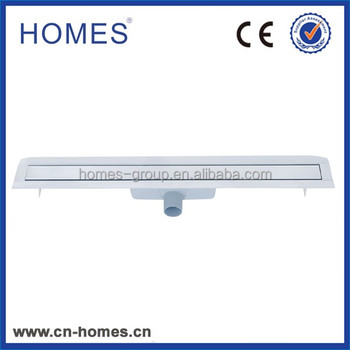 800*60mm shower Stainless steel cover types of floor drain