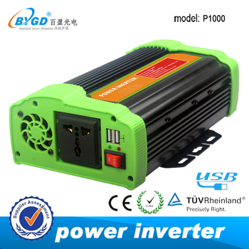 Off grid solar inverter dc to ac 12v 220v power inverter 1000w