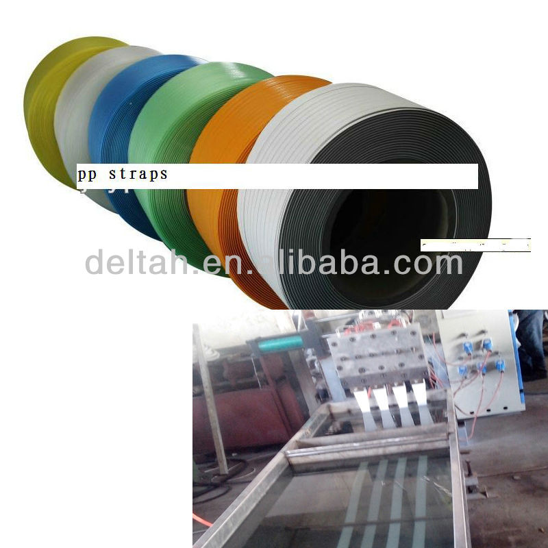 machine to make Good quality PP strap tape extrusion machine line for packing use