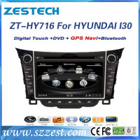 ZESTECH car sat navi headunit navigation system for hyundai i30 car multimedia