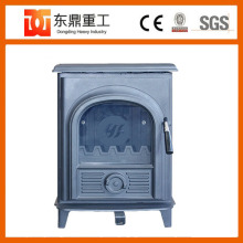 Cast Iron Free Standing Indoor & Outer door wood fireplace with good quality