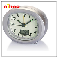 2015 Plastic Kent Antique Table Clock for Promotion