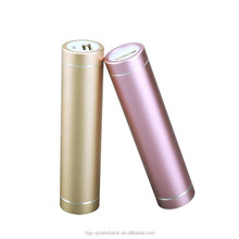 electronics products New items mirror lipstick power bank capacity 2600mah for women