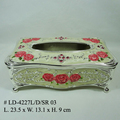 High Quality Zinc Alloy Tissue Box(LD-4227L/D/SR)