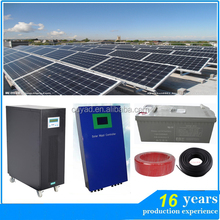 easy to install 1000w 2000w 3000w 4000w 5000w 6000w off-grid solar power system portable solar panel system for small home
