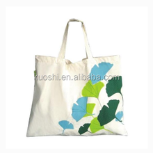 Large cotton canvas tote dust shopping bag