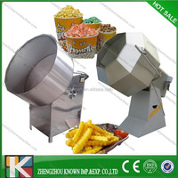 Electronic potato chips flavoring machine popcorn coating machine