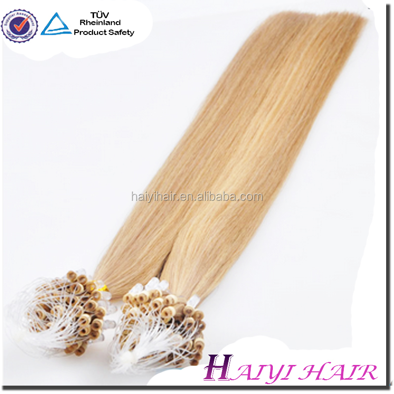 Factory Directly hair micro ring loop kinky hair extensions