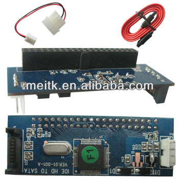 IDE/ SATA Bidirectional Card adapter, bilateral IDE SATA Converter