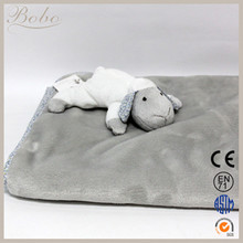 Animal Shaped Baby Plush Blanket Baby Sheep Blanket BL139007-D