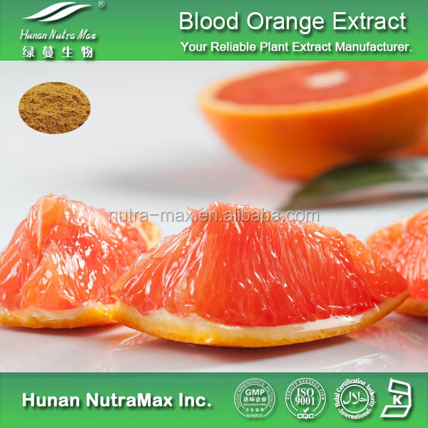 100% Organic Blood Orange Extract/Bigarade Orange Extract/Citrus Sinensis