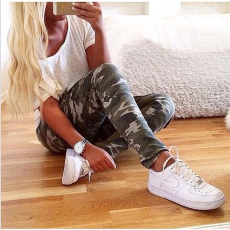 Wholesale Women Sexy Tight Camouflage Army Jeans From Ebay China Website