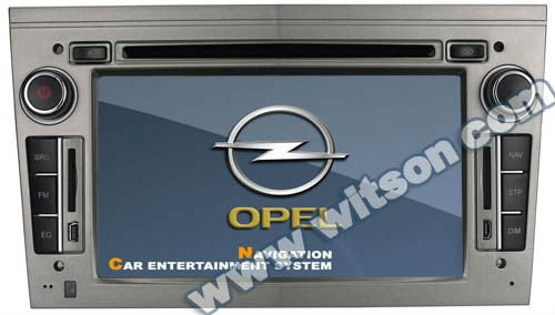 WITSON car radio gps Opel Vivaro with SD card for Music and Movie