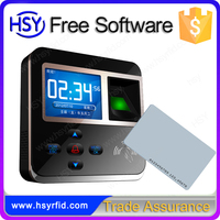 High quality time attendance wiegand port fingerprint access control rfid card work time tracking device manufacturer in China