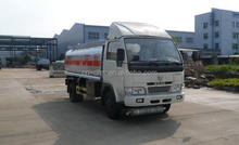 2000 liters fuel tanker truck capacity mini oil transport truck for sale