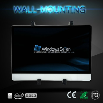 23.6 inch Dual Core PC Complete/Complete Desktop Computer With DDR3 ram