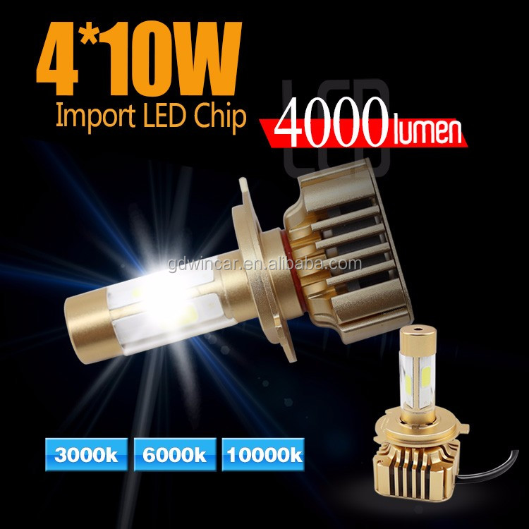 H1 H4 H7 H11 9004 9005 headlight auto parts ip 68 led bulb lighting lamp used cars