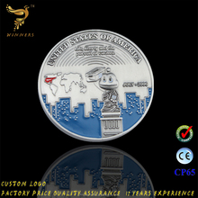 China Manufacturer Wholesale Custom Metal Game Token Copy Coin