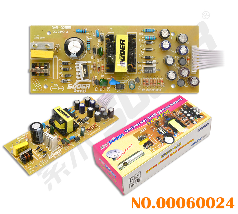 Factory Price Electrical Universal DVB Power Supply