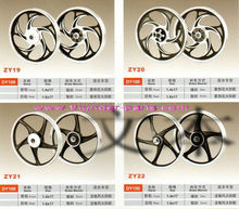 Motorcycle alloy wheel,Motorcycle aluminium wheels,wheel rim,parts for LIFAN LF125,LF100,LF110,THREE WHEELER,TRICYCLE
