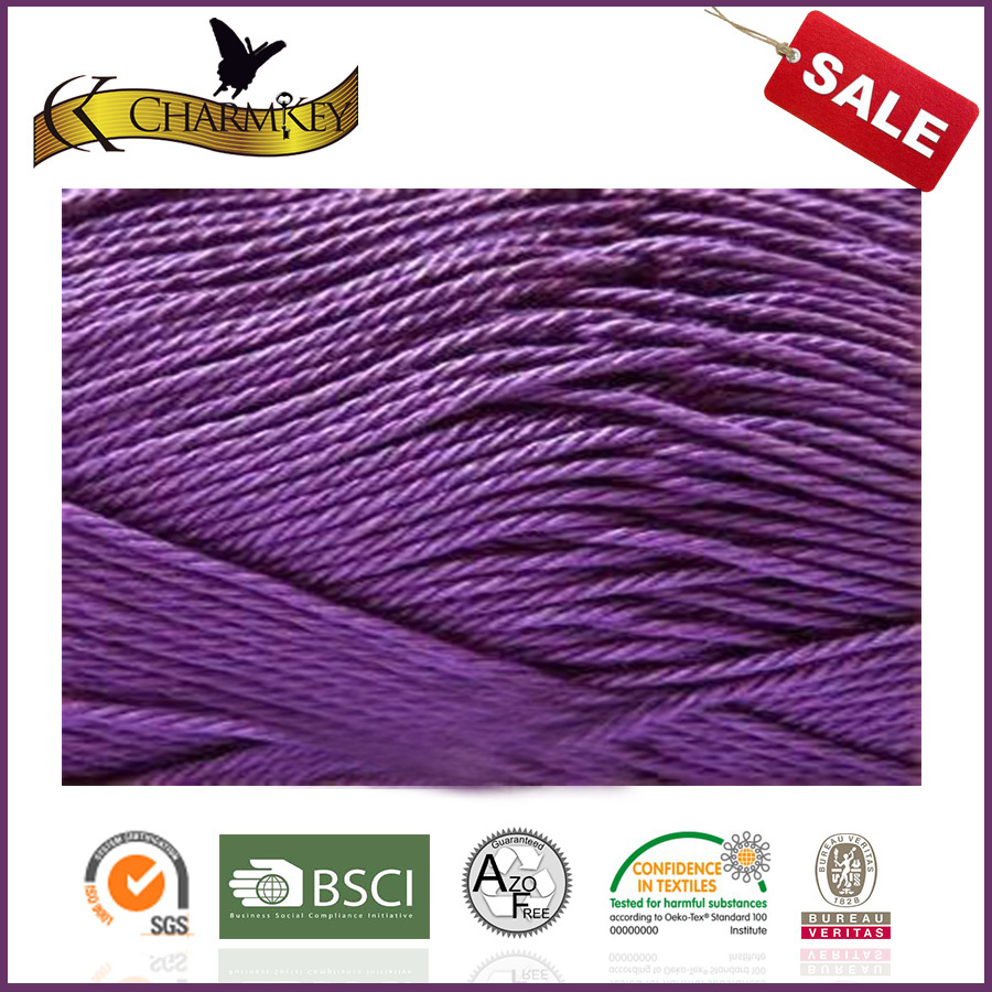 Soft feeling 100% recycled yarn cotton for knitted baby wear items