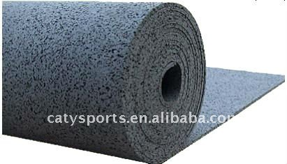EPDM rubber flooring mat for sport surface