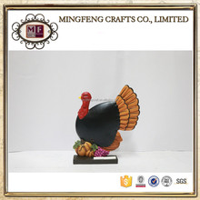 Harvest Thanksgiving Turkey Figurines