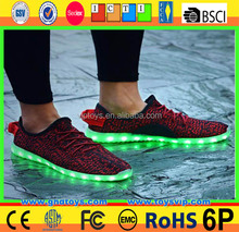 Sneaker Led Shoes Led Usb Charge Shoes Sneaker Led Shoes for kids led sport shoes,wholesale led sport shoes,7 color changing