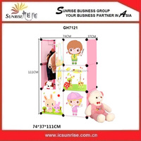 Plastic Foldable Wardrobe For Kids