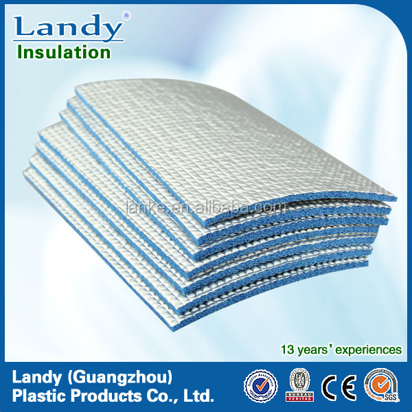 Self Adhesive Fire Retardant Foam Insulation Board
