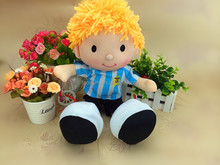 Football Argentina soccer player plush Action Figure