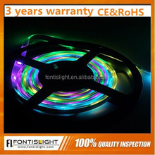 Christams led strip ornament RGB Flexible ws2812B LED Magic Ribbon with 50000H