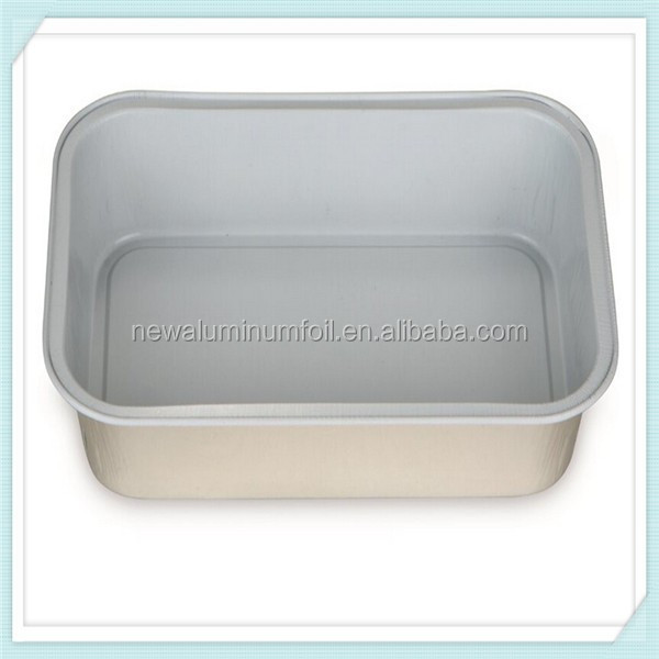 airline food container aluminum foil mold aluminum foil lunch box eco-friendly aluminum foil