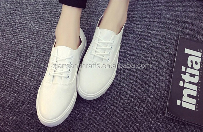 2016 fashion pu women shoes flat casual shoes cheap