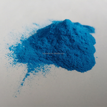 Blue Color Electrostatic thermosetting spray epoxy polyester powder coating