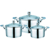 6pcs stainless steel cookware multifunction kitchen equipment for home
