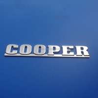 custom die casting letters car auto emblem with 3M adhesive / chrome plating brand car badges