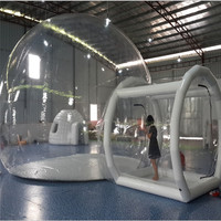 Clear dome camping bubble inflatable tent