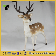 home depot plastic outdoor artificial christmas reindeer decorations