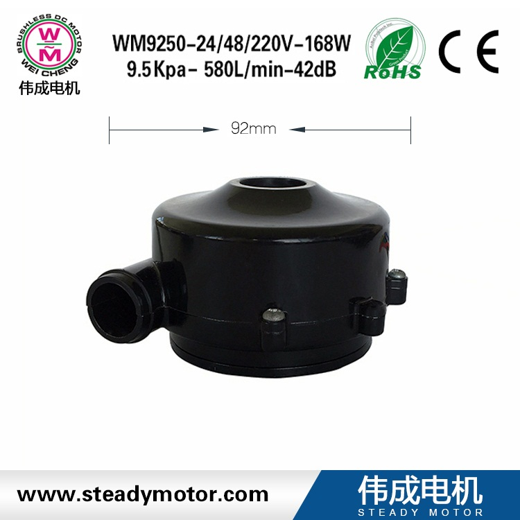 wholesales 12/24V DC car blower fan directly for exhausting