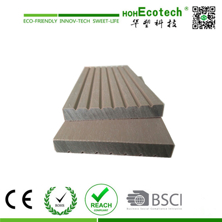 2017 WPC Co-extrusion Interlocking DIY Decking Board 70*10mm