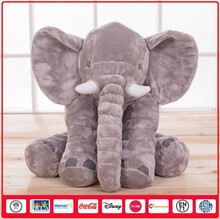 Plush Animals Wholesale Elephant Cute Colorful Pillow