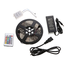 5050 rgb 5m ip65 waterproof flexible 12v 60leds/m 5m 300leds led 5050 rgb led stripe