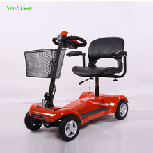 Four Wheels One Seat Disabled People Used Folding Electric Handicap Scooter For Sale From China