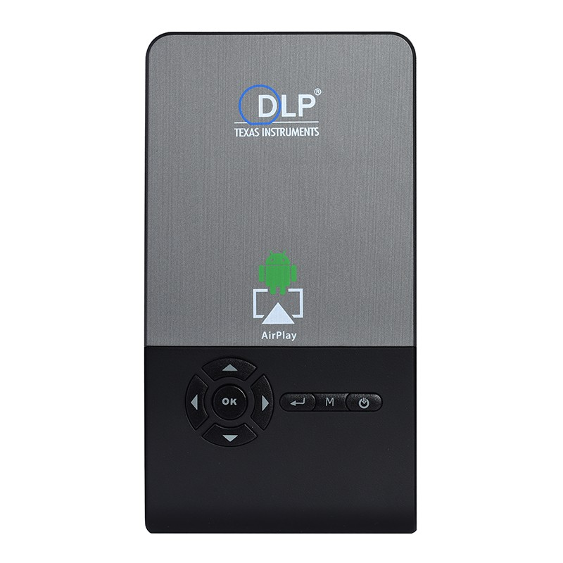 2016 Cheap DLP projectors C2 mini LED Portable mobile 3D 1920x1080 mini projector